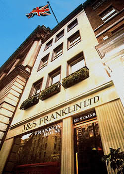 Strand HQ of J&S Franklin